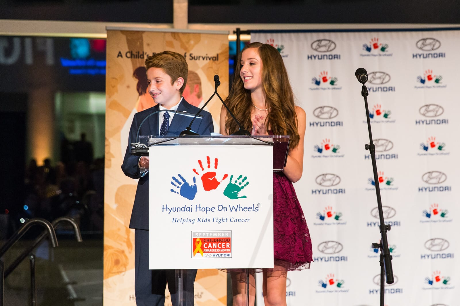 """Hyundai Hope On Wheels Wraps Up A Successful 2016 """"dc Days"""" In Celebration Of National Childhood Cancer Awareness Month By Awarding $7.5 Million In New Pediatric Cancer Research Grant Awards To 34 Institutions"""